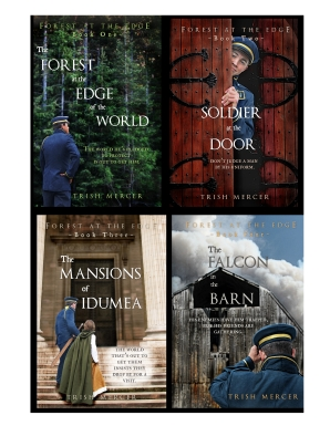 four book covers